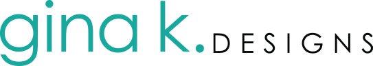 Gina K Designs Logo