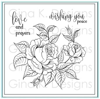 GinaK Designs Peaceful Roses
