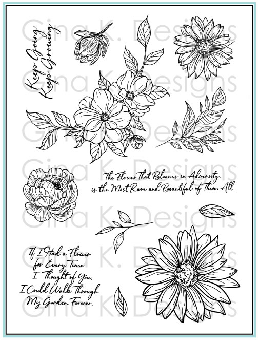 GKD Whimical Flowers
