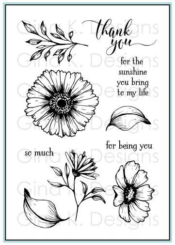 GKD Vibrant Blooms Stamp Set